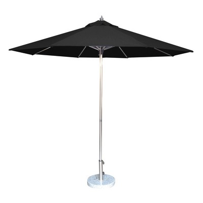 Picture of 2.7m Tuscany Polished Market Umbrella, Olefin cover